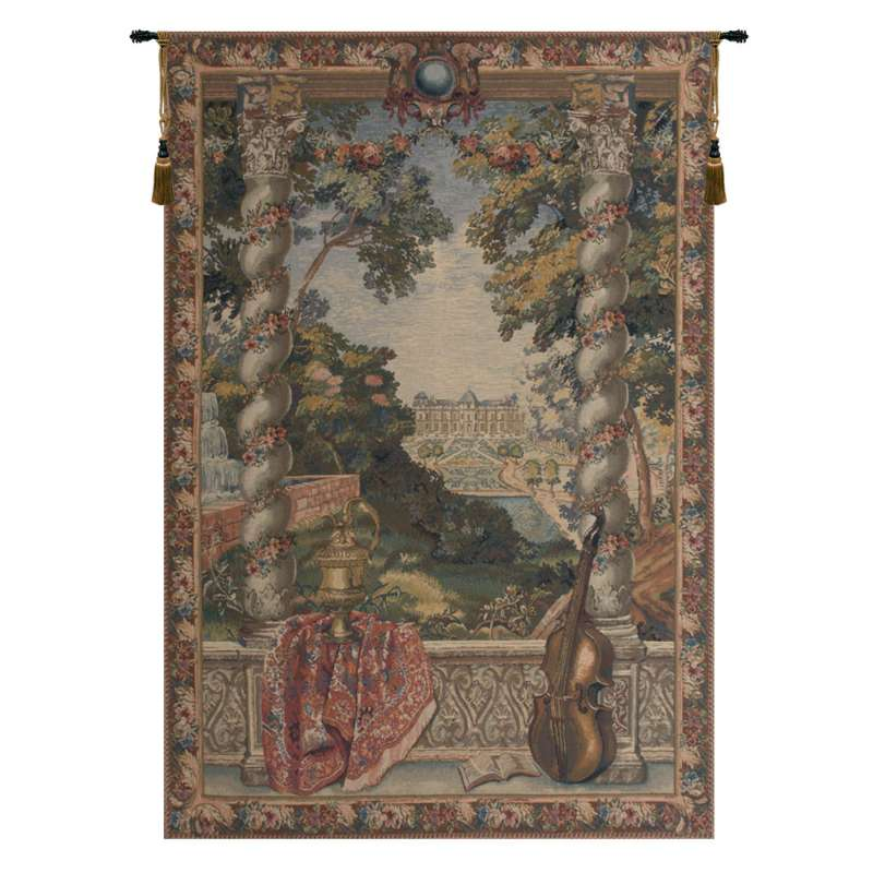 Chateau D Flanders Tapestry Wall Hanging