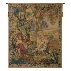 Country Scene Belgian Tapestry Wall Hanging