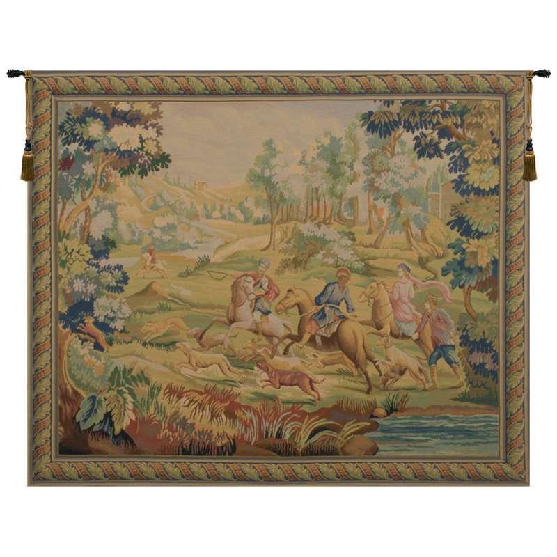 Hunt Belgian Tapestry Wall Hanging