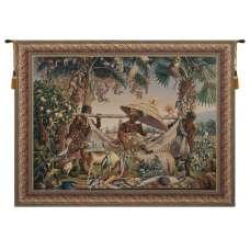 King Borne Belgian Tapestry Wall Hanging