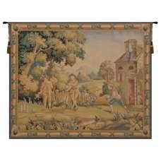 Game Belgian Tapestry Wall Hanging
