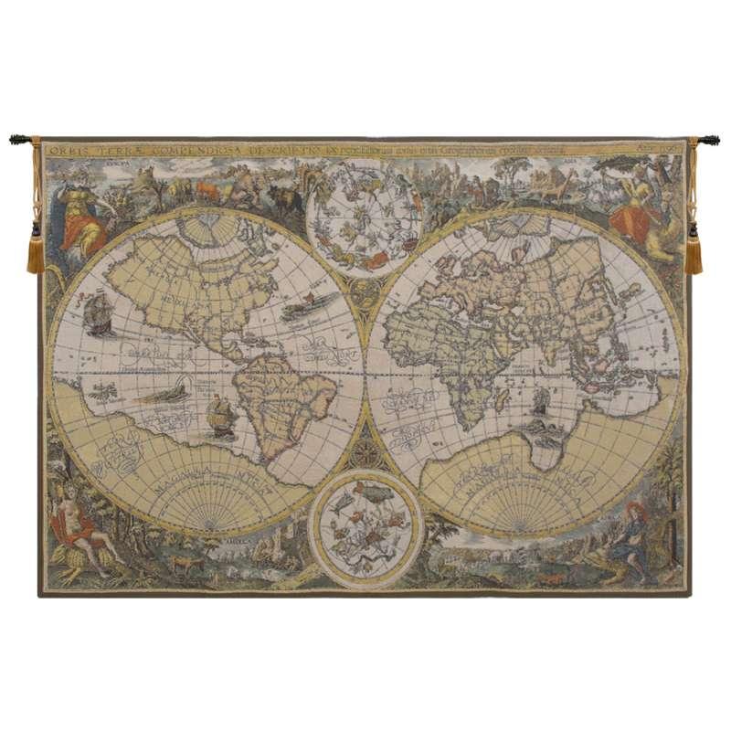 Orbis Terrae Flanders Tapestry Wall Hanging