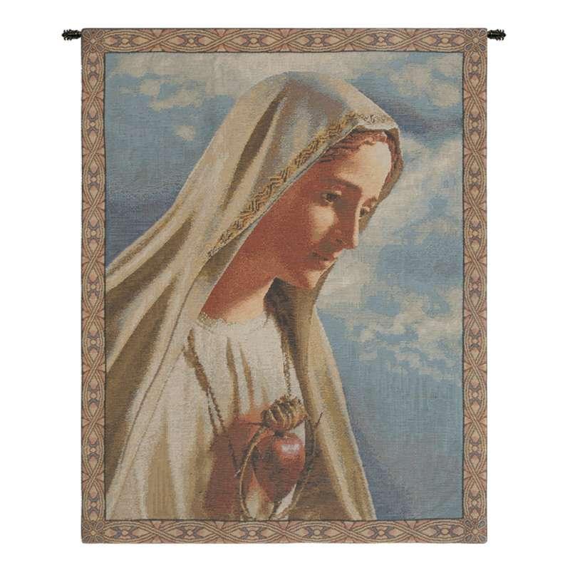 Fatima Belgian Tapestry Wall Hanging