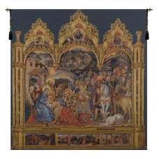 Adorazione Belgian Tapestry Wall Hanging