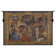 Adorazione Horizontal Belgian Tapestry Wall Hanging