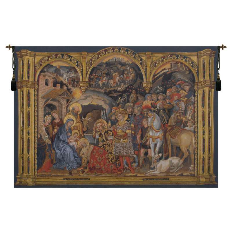 Adorazione Horizontal Flanders Tapestry Wall Hanging