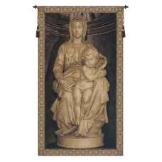 Madonna I Flanders Tapestry Wall Hanging