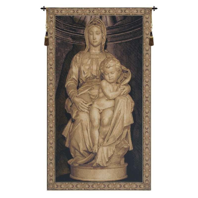 Madonna I Belgian Tapestry Wall Hanging