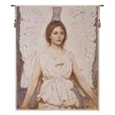 Angels Thayer Belgian Tapestry Wall Hanging