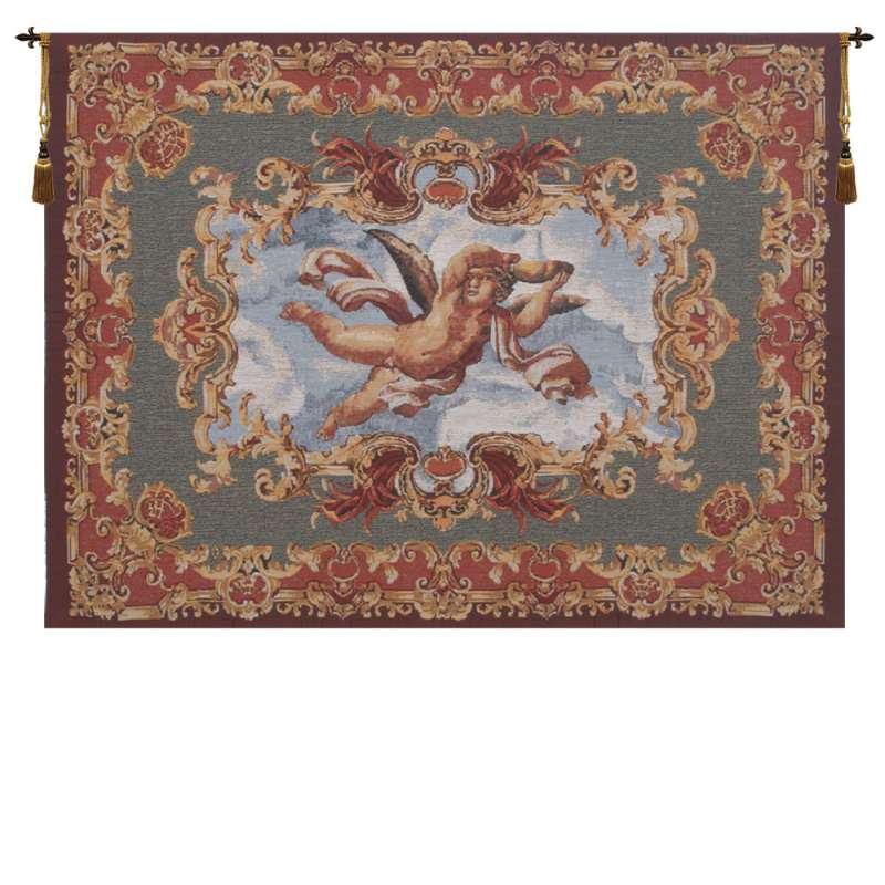 Angels Farnese Belgian Tapestry Wall Hanging