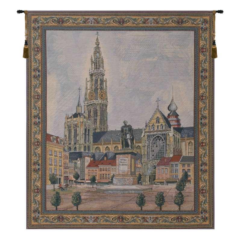 Antwerpen Belgian Tapestry Wall Hanging