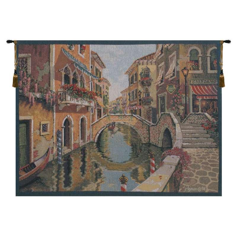 Venice Venetie I Belgian Tapestry Wall Hanging