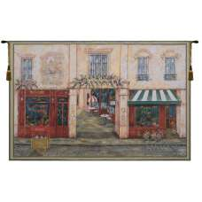 Luchon Terrasse Belgian Tapestry Wall Hanging