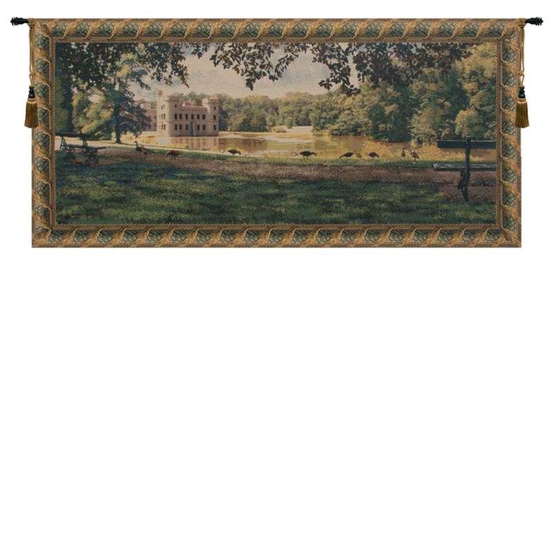 Princess Castle Belgian Tapestry Wall Hanging