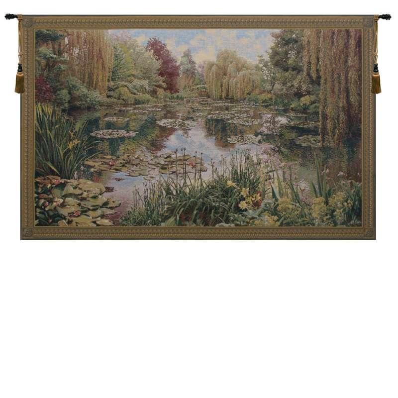 Monet Horizontal Belgian Tapestry Wall Hanging