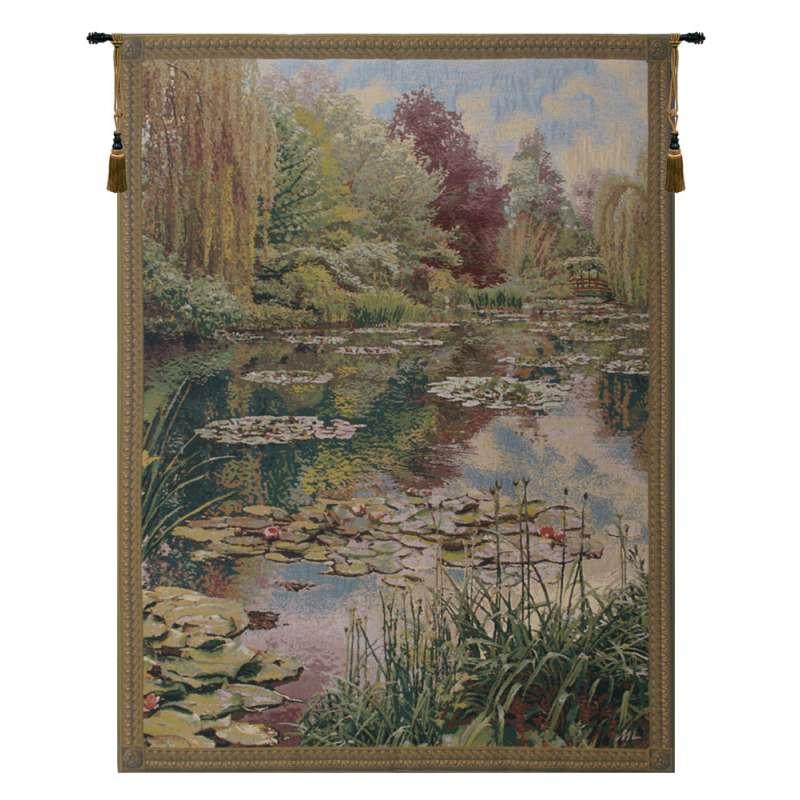 Monet Vertical Belgian Tapestry Wall Hanging