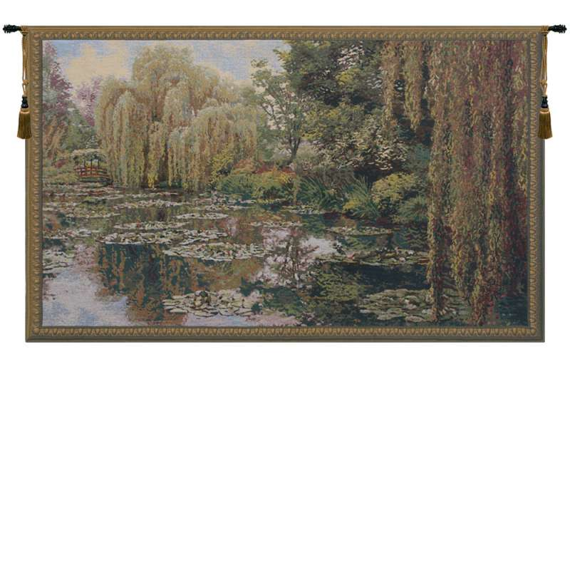 Monet Right Panel Belgian Tapestry Wall Hanging