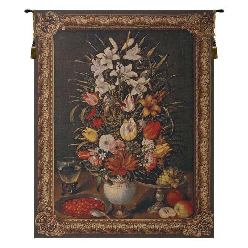 Antique Breughel Large Belgian Tapestry Wall Hanging