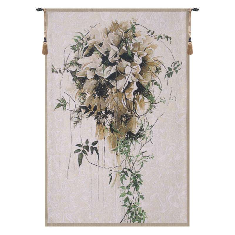 Brides Bouquet Flanders Tapestry Wall Hanging