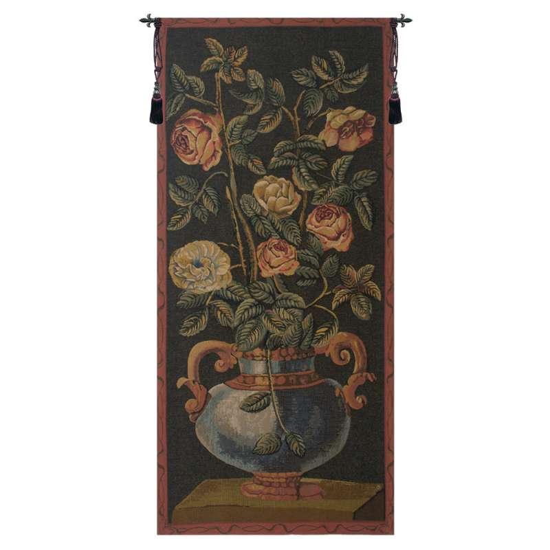Roses Belgian Tapestry Wall Hanging