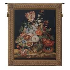 Blumenbild Belgian Tapestry Wall Hanging