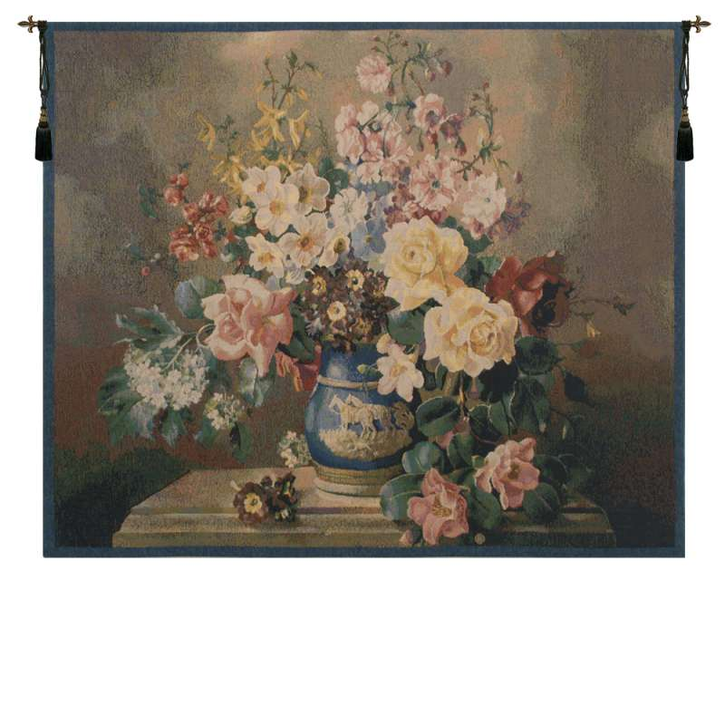 Jolly Bouquet Belgian Tapestry Wall Hanging