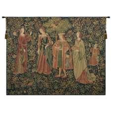 Promenade Flanders Belgian Tapestry Wall Hanging