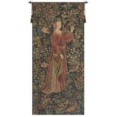 Promenade I Left Panel Belgian Tapestry Wall Hanging