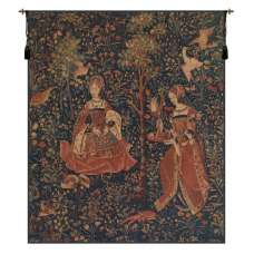 Broderie Embroidery Belgian Tapestry Wall Hanging