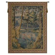 Forest Belgian Tapestry Wall Hanging
