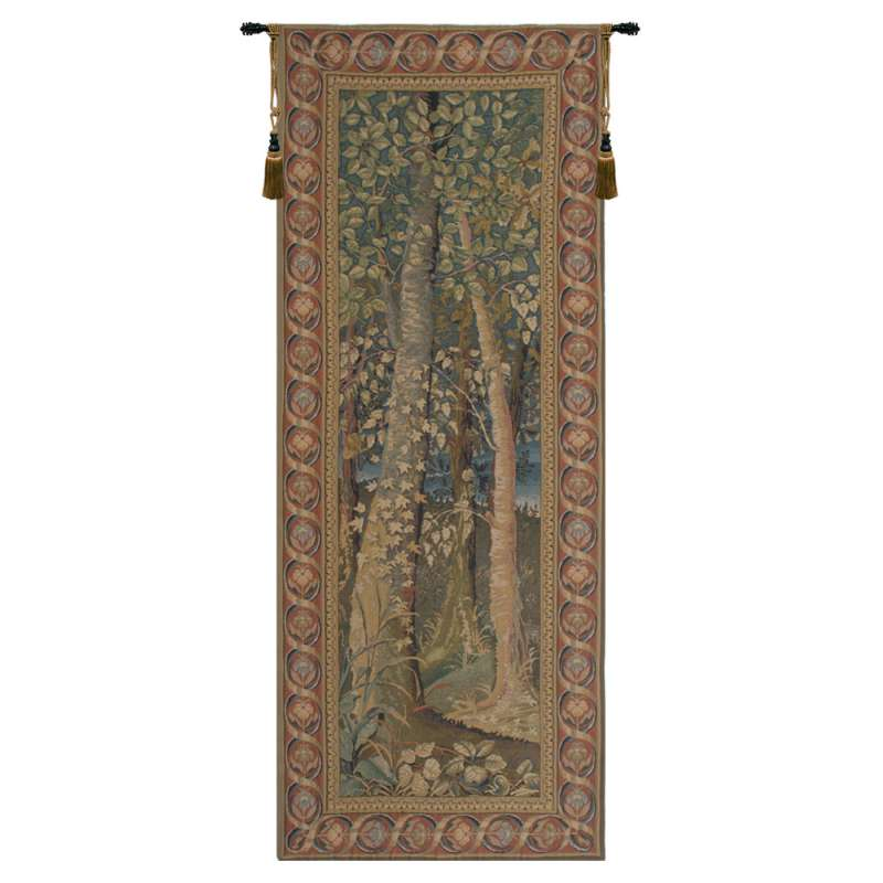 Wooden Hills Belgian Tapestry Wall Hanging