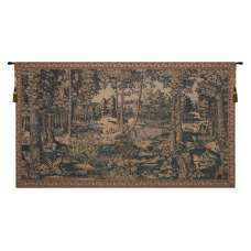 The Royal Forest Belgian Tapestry Wall Hanging