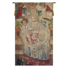 Madonna with Child Flanders Belgian Tapestry Wall Hanging