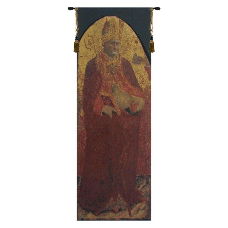 Saint Nicolas Belgian Tapestry Wall Hanging