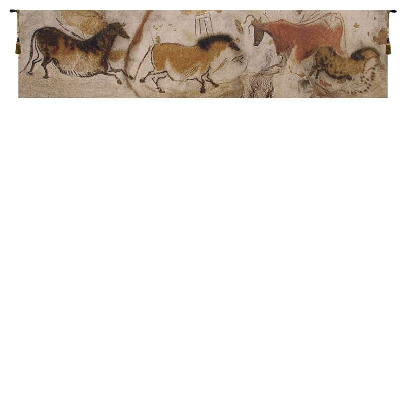 Lascaux Small Belgian Tapestry Wall Hanging