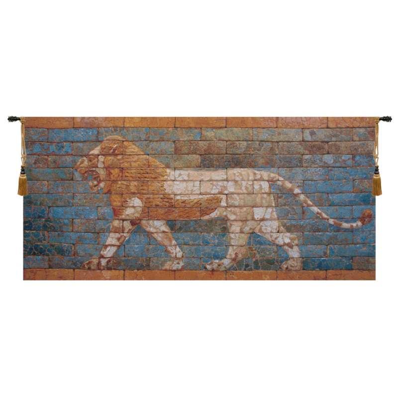 Lion Nebuchadnezzar II Belgian Tapestry Wall Hanging