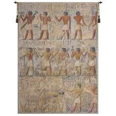 Saqqarah Beige Belgian Tapestry Wall Hanging