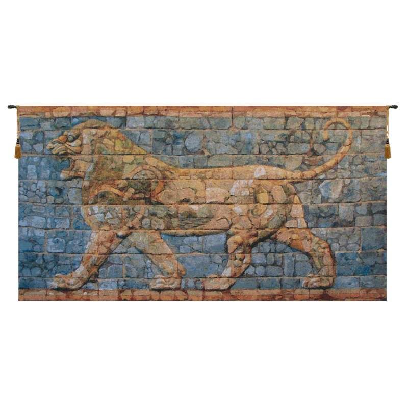 Lion I Darius Belgian Tapestry Wall Hanging