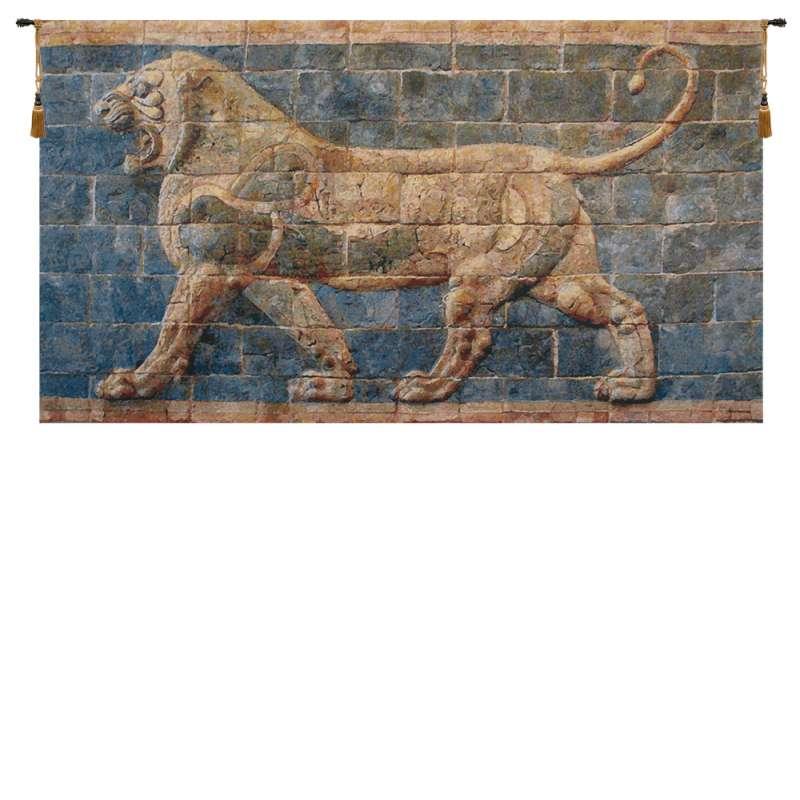 Lion II Darius Belgian Tapestry Wall Hanging