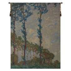 Claude Monet Trees Belgian Tapestry Wall Hanging