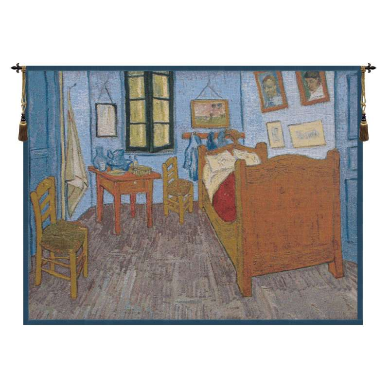 Van Gogh The Bedroom Belgian Tapestry Wall Hanging