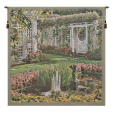 Jardin Medium I Belgian Tapestry Wall Hanging