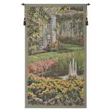 Jardin Vertical I Belgian Tapestry Wall Hanging
