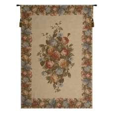 Floral Motif European Tapestry