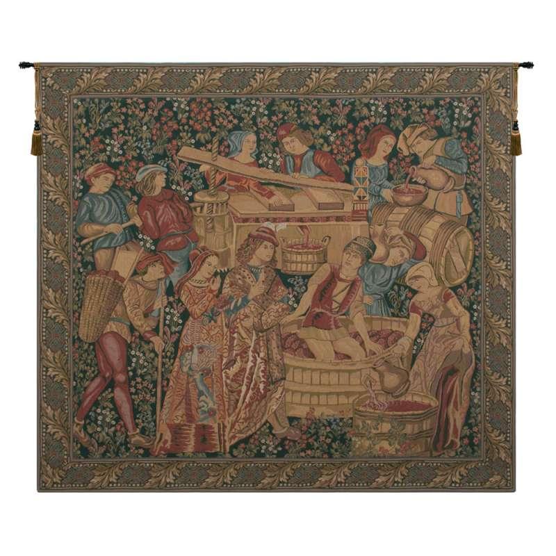 Vendange Left Panel European Tapestry