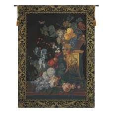 Bouquet on a Column European Tapestry