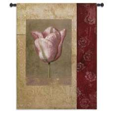 Tulip Rosee Tapestry Wall Hanging