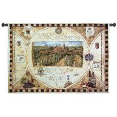 Hilltop Winery Tapestry Wall Hanging
