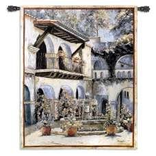 Placita de las Flores Tapestry Wall Hanging