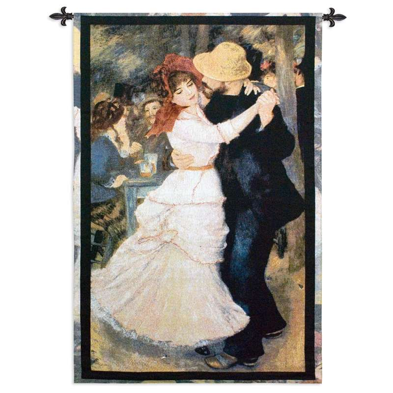 Dance at Bougival Tapestry Wall Hanging